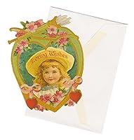 パンチスタジオ 【バレンタイン】 スモール グリーティングカード 封筒セット (女の子×弓矢) 53155