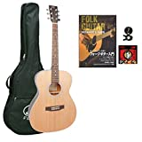 SX トリプル O タイプ ギター スタンダード入門セット SO204 BLK STSET