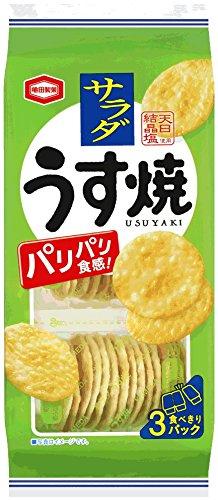 亀田製菓 サラダうす焼 3パック×12袋