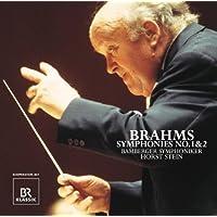 ブラームス:交響曲第1番&第2番