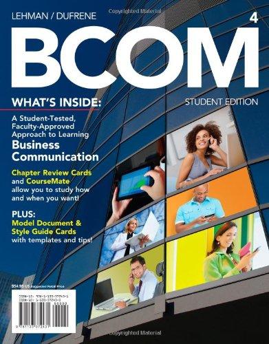 Download BCOM4 (Engaging 4ltr Press Titles for Communication) 1133372430