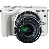 Canon ミラーレス一眼カメラ EOS M3 レンズキット(ホワイト) EF-M18-55mm F3.5-5.6 IS STM 付属 EOSM3WH-1855ISSTMLK