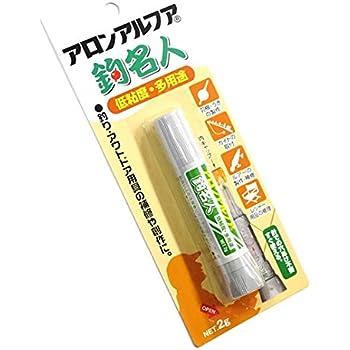 KONISHI(コニシ) アロンアルフア 釣名人 低粘度 多用途 【2g】
