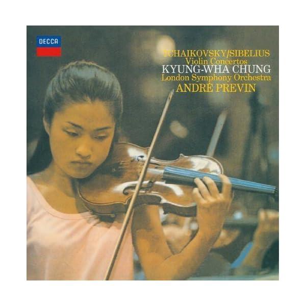 チャイコフスキー&シベリウス:ヴァイオリン協奏曲の商品画像