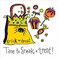 ハロウィンテーブルウェアGet Wicked Sneak A Treat Beverage Napkins 18 ct