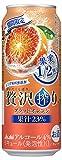 【季節限定】贅沢搾りブラッドオレンジ 缶 [ チューハイ 500ml×24本 ]