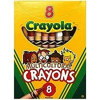 Crayola Llc MulticulturalクレヨンReg 8pk 52008W