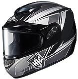 HJC cs-r2sn Seca Full Face雪ヘルメットFramedデュアルレンズシールド X-Large 243-955