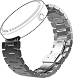 Motorola Mobility Moto360 Metal Watch Band - 23mm Silver Metal [Band Only] [並行輸入品]