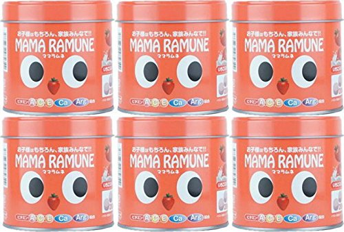 【6個セット】ママラムネ(いちごミルク風味)200粒