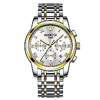 高級時計メンズファッションカジュアルスポーツクォーツ腕時計男性用時計メンズ腕時計