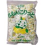 サクマ製菓 れもんこりっと(ピロー) 1kg レモン 1 袋