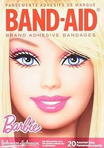 海外直送品Band-Aid Bandages Barbie, Assorted 20 each by Band-Aid