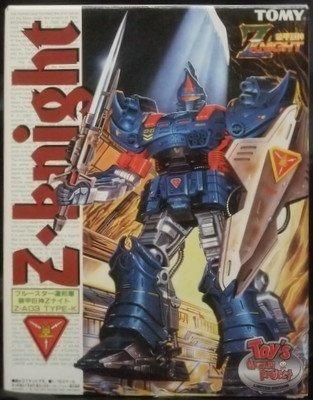 装甲巨神Zナイト ブルースター連邦軍 Z・A03 TYPE-K