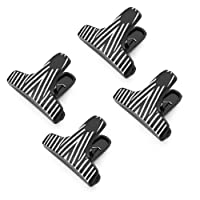 Kizmos T-Shaped Zebra Print Bag Clips (Set of 4) by Kizmos [並行輸入品]