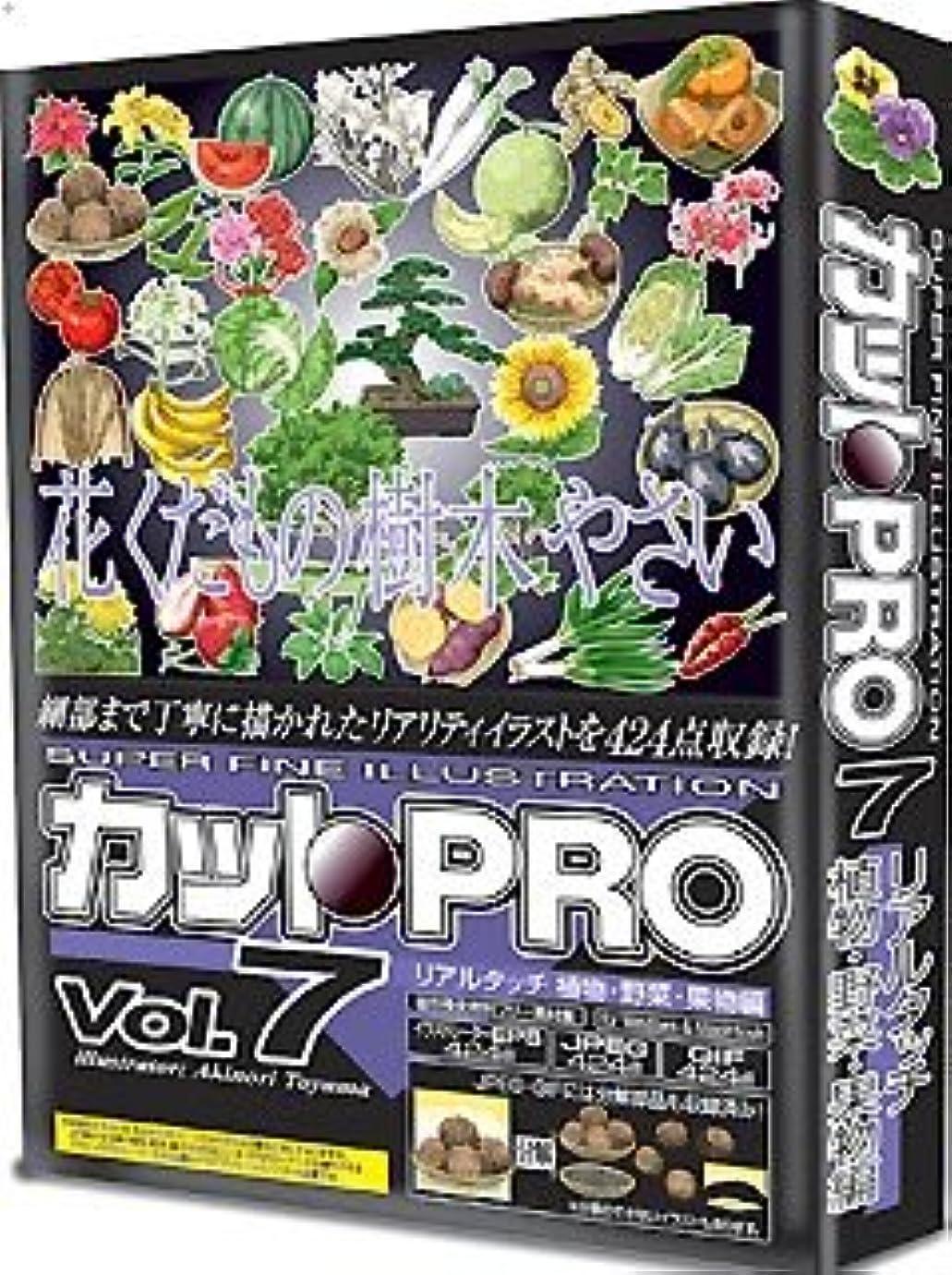 集中的な一回捨てるカットPRO Vol.7 リアルタッチ 植物?野菜?果物編