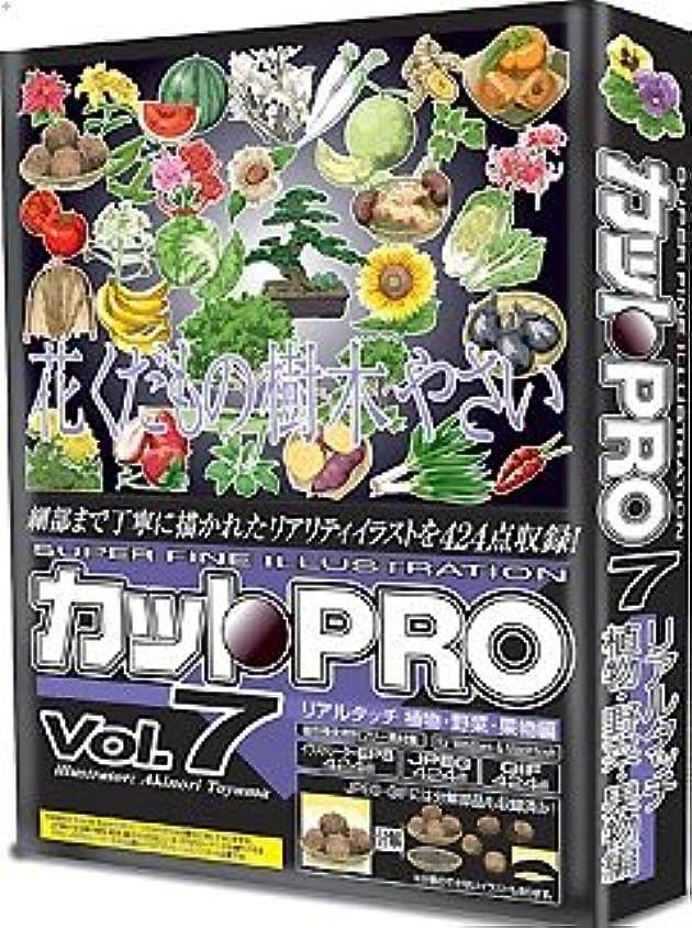 カットPRO Vol.7 リアルタッチ 植物?野菜?果物編