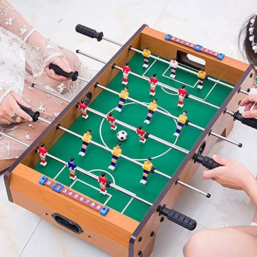PUERI テーブルサッカーゲーム アナログゲーム 家庭用フットボールテーブル テーブルサッカーゲームテーブル 木製 おもちゃサッカーテーブルスポーツボード 親子スポーツ 少年教育玩具 ミニ屋内 おもちゃ