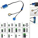 OLIGHT オーライトUNIVERSAL MAGNETIC USB CHARGER UC充電器 【充電対応電池:18650/17670/16340/RCR123A/14500/単3/単4/AA /10340/10350/10440/10500/12340/12500/12650/14350/14430/14500などの充電池】 UNIVERSAL MAGNETIC USB CHARGER 2本 (OLIGHT UC充電器)