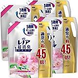 【ケース販売】レノア 超消臭1WEEK 柔軟剤 フローラルフルーティーソープ 詰め替え 約4.5倍(1790mL)×4袋