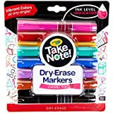 Crayola Take Note! Premium Whiteboard Markers 12pk, Chisel Tip, Great for Boardroom, Classroom or Office, Bright Colours that stand out and Erase easily for visual impact in meetings or schools!