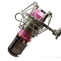 Codio 集音マイク 単一指向性 スタジオ レコーディング 高音質 録音 宅録 ゲーム実況 生放送 ピンク MK01PK