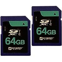 Olympus Stylus Tough tg-850デジタルカメラメモリカード2x 64GB安全デジタルクラス10Extreme容量SDXCメモリカード(2パック)