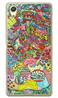 SECOND SKIN 動く心臓 (クリア) design by 326 / for Xperia X Performance SO-04H・SOV33・502SO/docomo・au・SoftBank DSO04H-PCCL-326-Y748