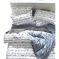 beddingwish 被套枕套被套床单床单式被套防螨床笠床上用品