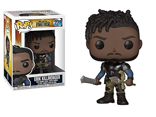 Marvel(マーベル) Black Panther(ブラックパンサー) エリック・キルモンガー Funko/ファンコ Pop! Marvel VINYL ボブルヘッド [並行輸入品]