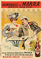 Marraヴィンテージポスター(アーティスト: Tamagno )フランスC。1905 9 x 12 Art Print LANT-61935-9x12