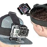 【Log Total】 スマホ スマートフォン 携帯 撮影 スタンド ホルダー ハンズフリー 小型 ヘッド 頭