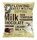 バスコチョコレート1kg (ミルクチョコレート)チョコレートファウンテン フォンデュ 製菓用