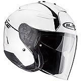 HJC(エイチジェイシー)バイクヘルメット ジェット ホワイト(MC10) (サイズ:M) IS-33 2ニーロ HJH121