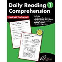 Daily Reading Comprehension Grade 1 (Chalkboard Books)