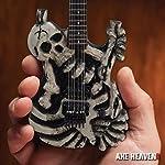 AXE HEAVEN George Lynch Signature Skull & Bones J.FROG Mini Guitar Replica Collectible [並行輸入品]