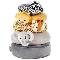 Itty Bittys Noah 's Ark Baby Stuffed Animal Stacker赤ちゃん&幼児用おもちゃ動物& Nature ; Religious