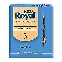 Rico Royal ACL3 リード アルトクラリネット用 硬さ:310枚入り (リコロイヤル)