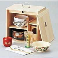 色紙箱揃(桐)[ 255 x 175 x 255mm ]【 茶道具 】【 茶道 お土産 和食器 セット 】