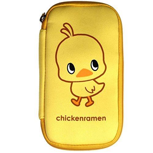 チキンラーメン(Chikin Ramen) ひよこちゃん スマートライドポーチ キイロ WWW-L-CHIKIN-P イエロー