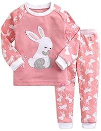 [Vaenait Baby]キッズ子供ベビー服綿100%ルームウェア長袖パジャマ寝間着上下セット