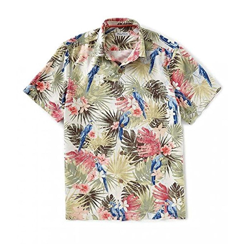 民族主義ドット待って(トミー バハマ) Tommy Bahama メンズ トップス 半袖シャツ Marino Paradise Short-Sleeve Woven Shirt [並行輸入品]