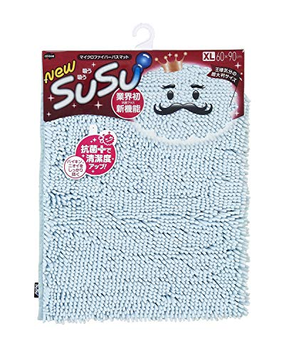 SUSU バスマット 速乾 抗菌 XL 60cm×90cm