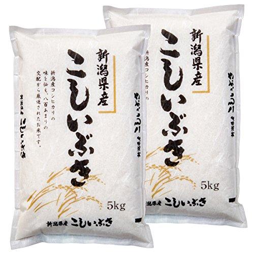 【精米】 新潟県産 白米 こしいぶき 10kg (5kg×2袋) 平成29年産