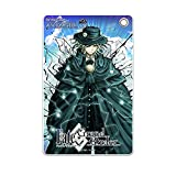 HAKUBA キャラモード スリムソフトパスケース Fate/Grand Order エドモン・ダンテス[第3段階] 日本製 定期入れ カードケース 裏面の窓つきポケットで出し入れ簡単 薄型コンパクト ボールチェーン付き