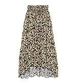 [ミラオーウェン] 裾切りっぱなしフレアスカート 09WFS192027 レディース FLOWER 日本 0 (日本サイズ7 号相当)
