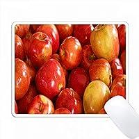 赤いリンゴの束の写真 PC Mouse Pad パソコン マウスパッド