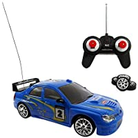 Liberty Imports Super Fast Drift Blue Star R/C Sports Car Remote Control Drifting Race Car 1:24 + Headlights Backlights Side Lights + 2 Sets of Tires 【You&Me】 [並行輸入品]