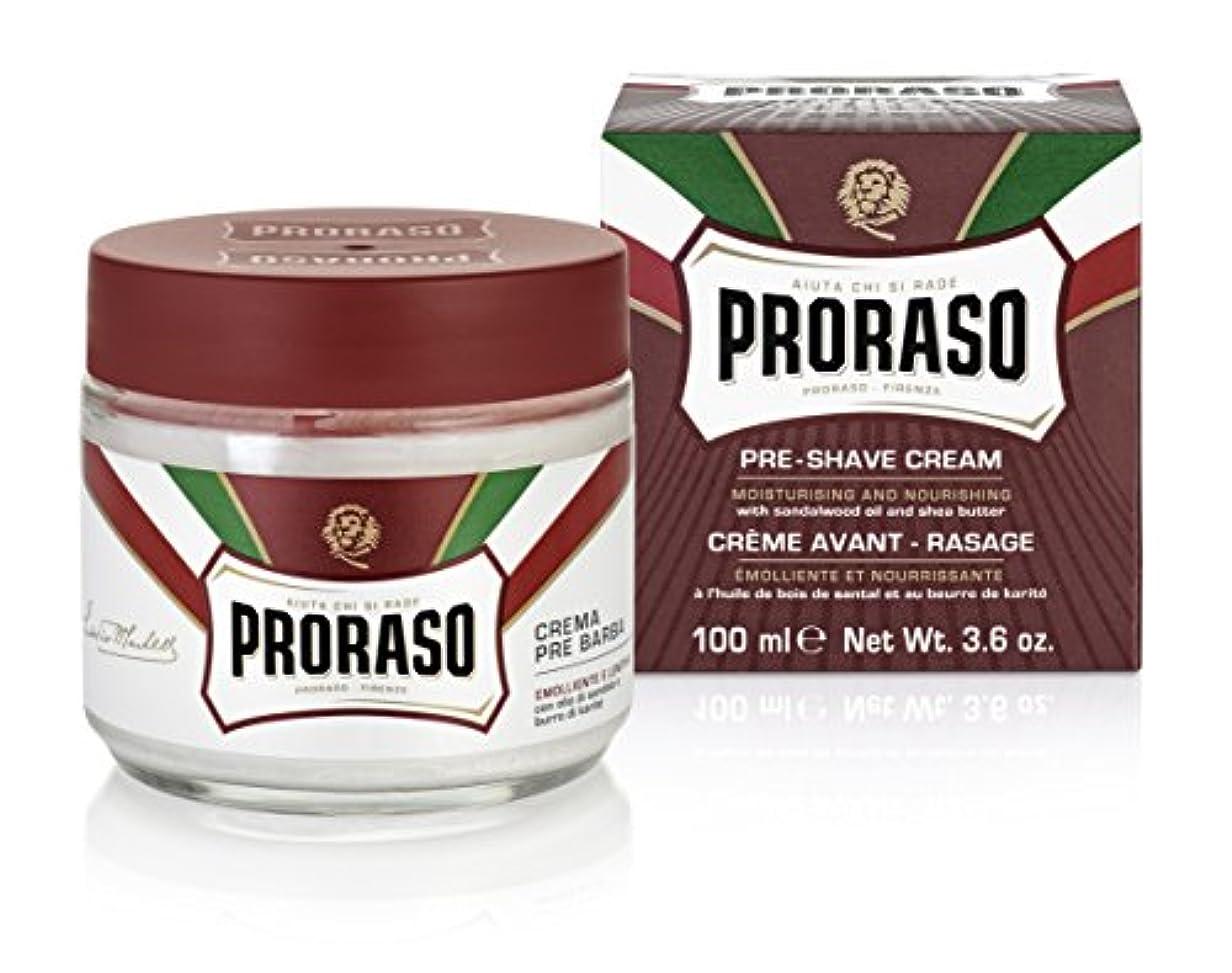 宿命程度今日PRORASO(ポロラーソ) プレシェーブクリーム ノーリッシュ