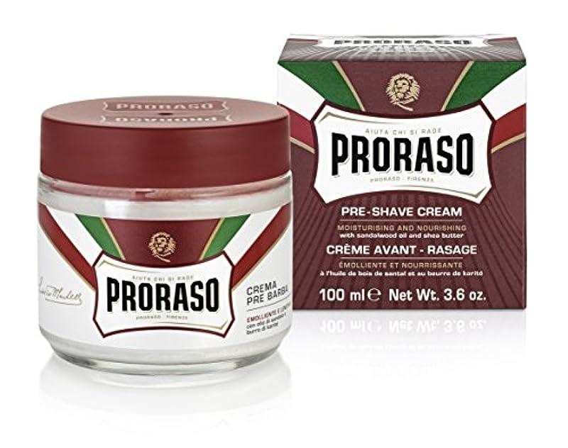 PRORASO(ポロラーソ) プレシェーブクリーム ノーリッシュ